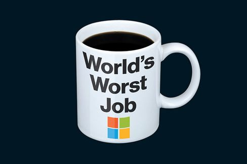 Why You Don't Want to Be Microsoft CEO