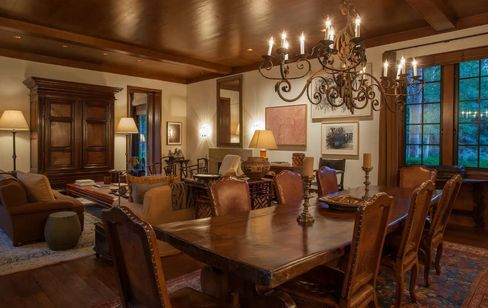 Dining Table at Sun Valley Estate. Source: Relevance New York via Bloomberg