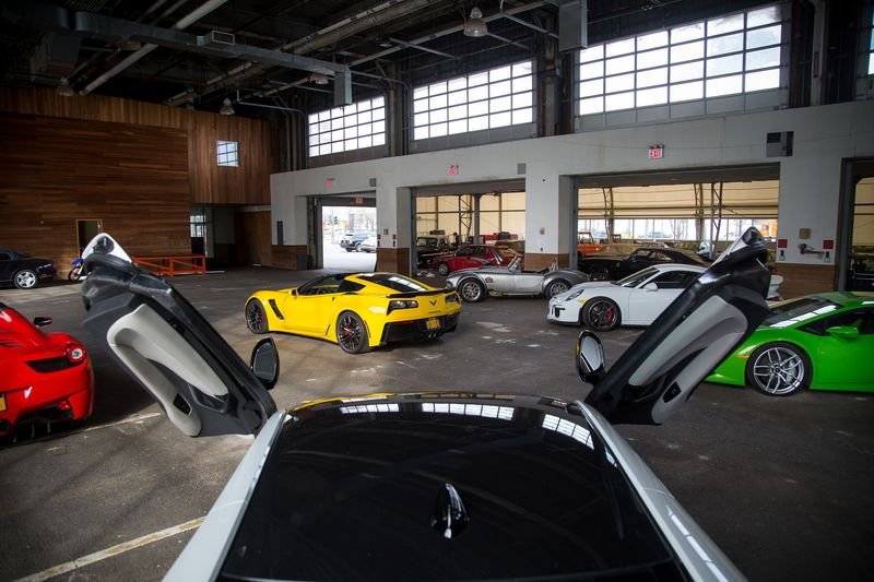 Classic Car Club Manhattan New Location At Nypd Stable Pier 57