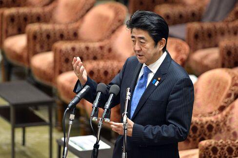 In Japan, Politics Propels a Stock Market Rally