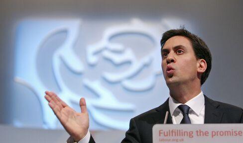 Miliband 'Predators' Language Echoes 1989 U.K. Labour Policy