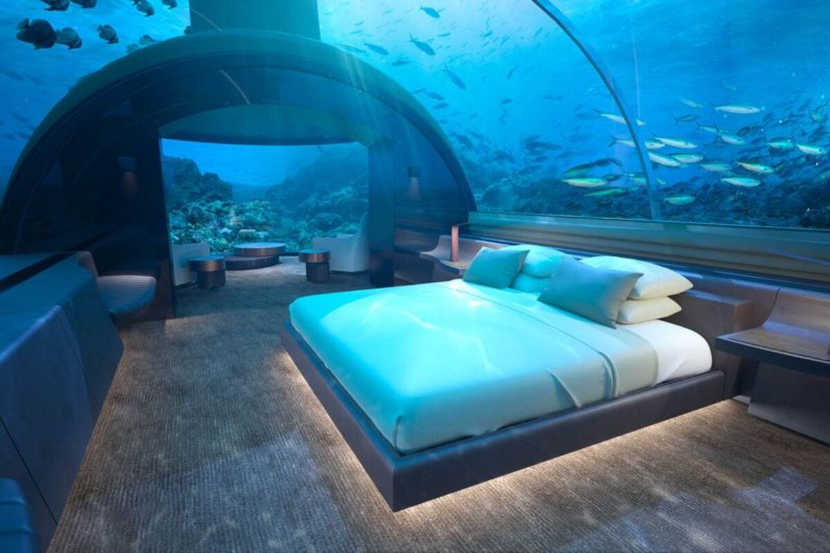 1泊540万円の世界一豪華な隠れ家-海中の城がモルディブで誕生へ , Bloomberg