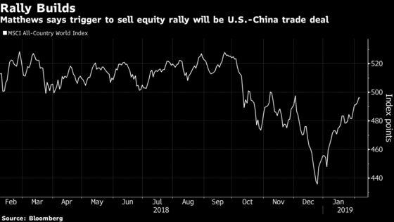 Wall Street Veteran Says U.S.-China Deal Will Be Sell Trigger