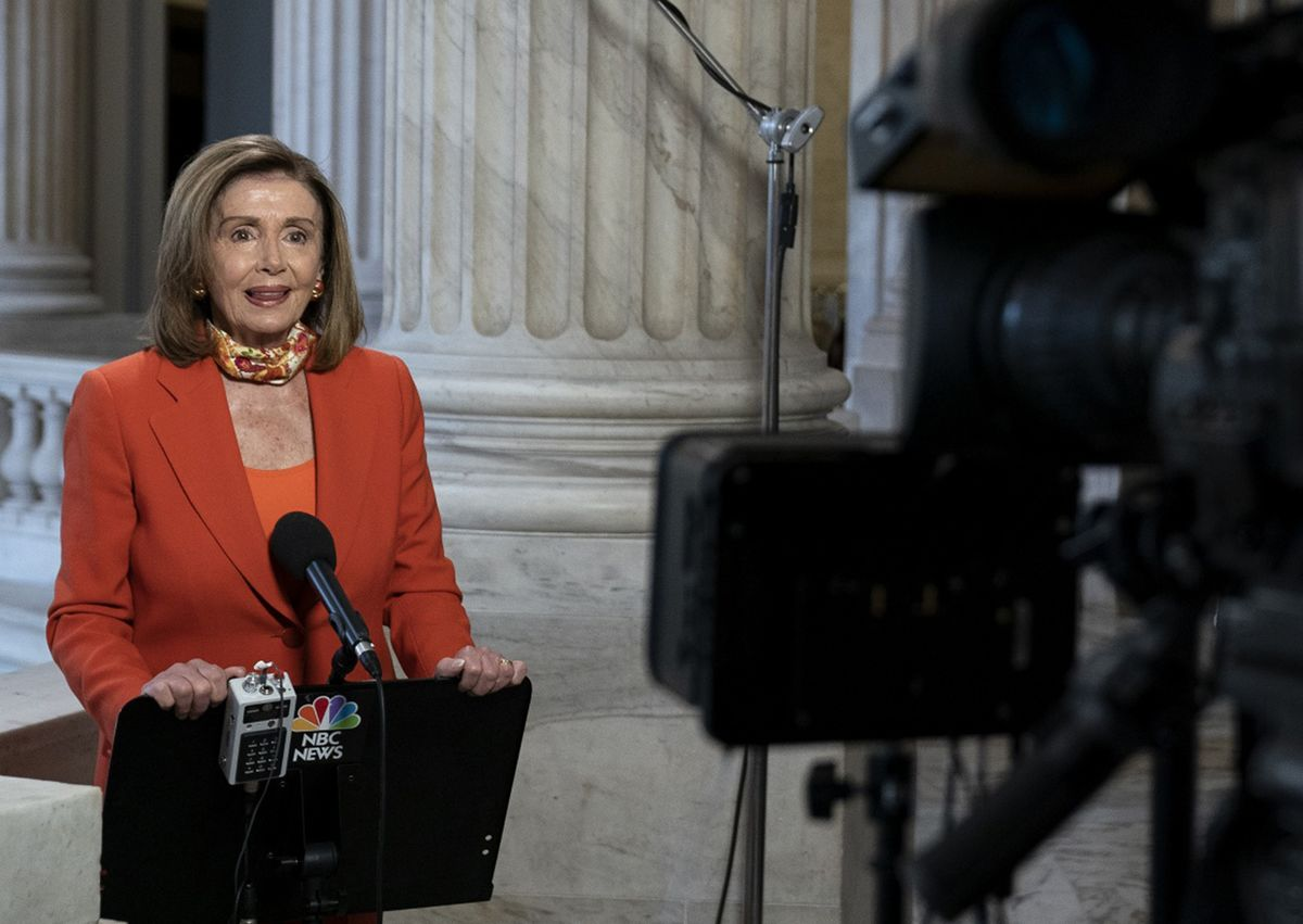 Pelosi Rejects Moderate Democrat Push for Slimmer-Stimulus Vote thumbnail