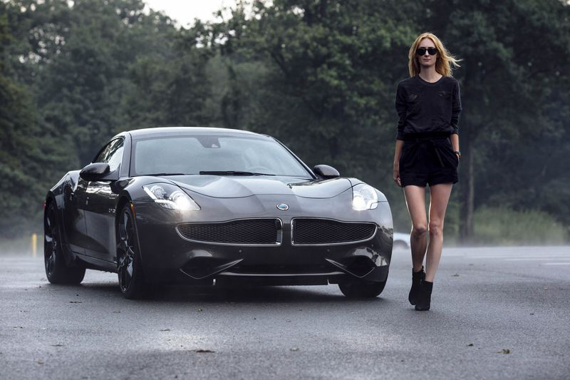 The Karma Revero Has Two Electric Motors And A 21 Kilowatt Hour Battery That Drive Rear Wheels Plus Liter Four Cylinder Turbocharged Engine