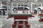 The Tesla Motors factory in Tilburg, Netherlands