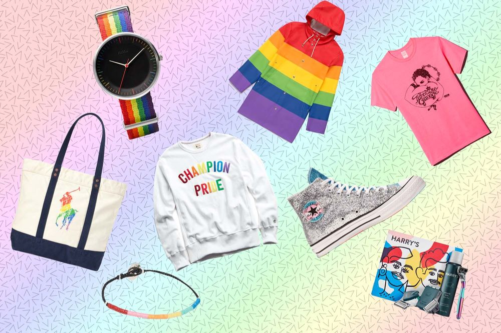 b00d72cb relates to For This Pride Month, Fashion Finally Figured Out the Rainbow