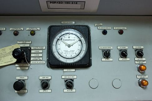 Inside the Plutonium Finishing Plant: An old control panel