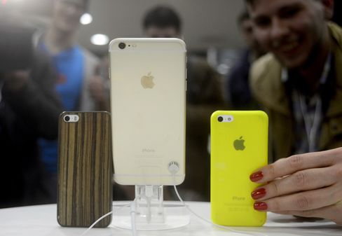 iPhone 6 Sales in Russia