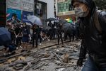 Hong Kong Protester Shot by Police in Morning Commute Chaos