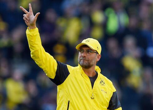 Dortmund Head Coach Juergen Klopp