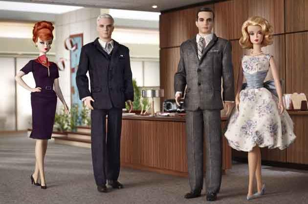 Mattel's 'Mad Men' Barbie Dolls