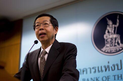 Bank of Thailand Governor Prasarn Trairatvorakul