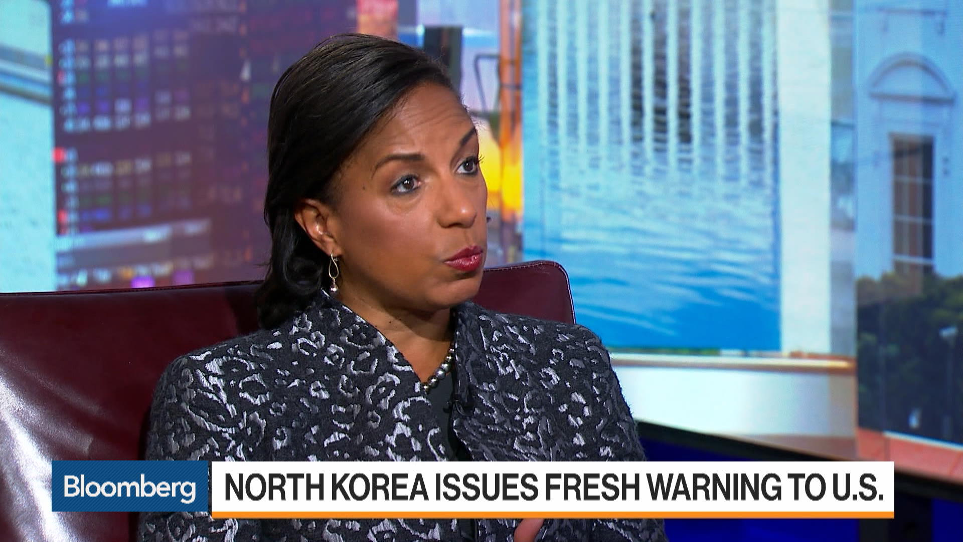 Trump Has to Try Negotiating With North Korea: Susan Rice