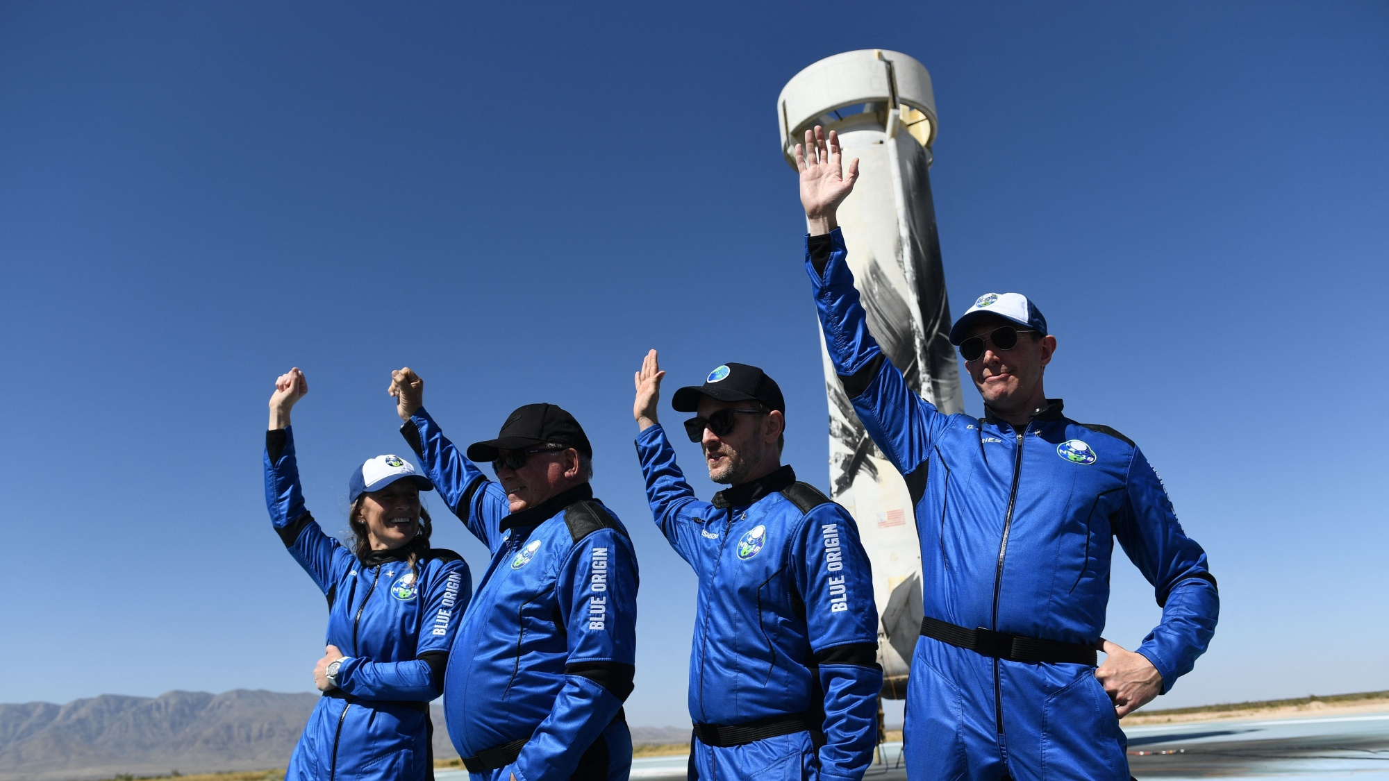 Blue Origin's Paying Customers Say Space A 'Privilege' For Pioneers