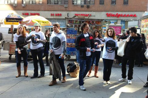 To Pitch Oreos to New Yorkers, Mondel??z Sends 500 A Capella Singers
