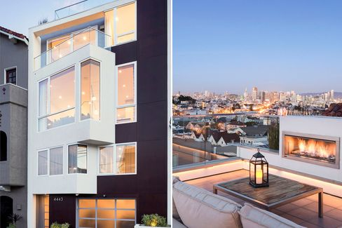 4443 19th Street is a LEED Platinum townhome in San Francisco's Castro District.