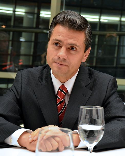 Pena Nieto Prosperity Vow Means Mastering His Party