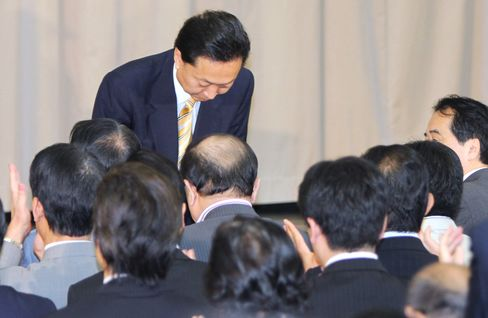 Hatoyama Resigns Over U.S. Base Decision, Scandals