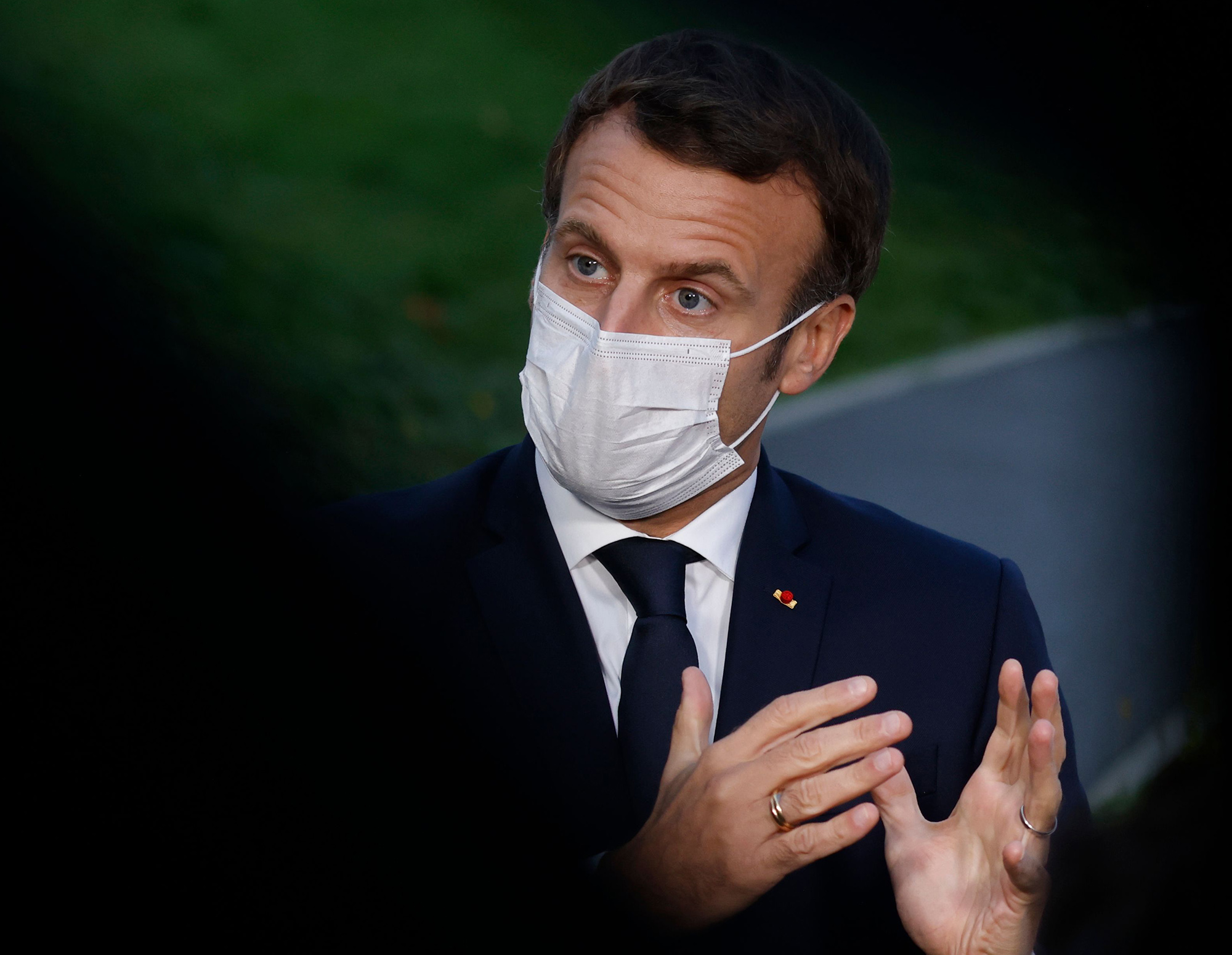 France Has Most Virus Deaths Since April As Macron Readies Curbs Bloomberg