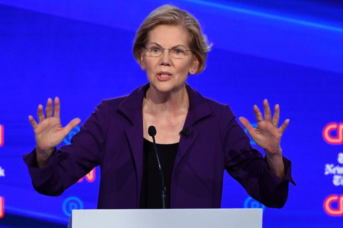 Warren Campaign Rebuffs Biden's Criticism of Money Transfer