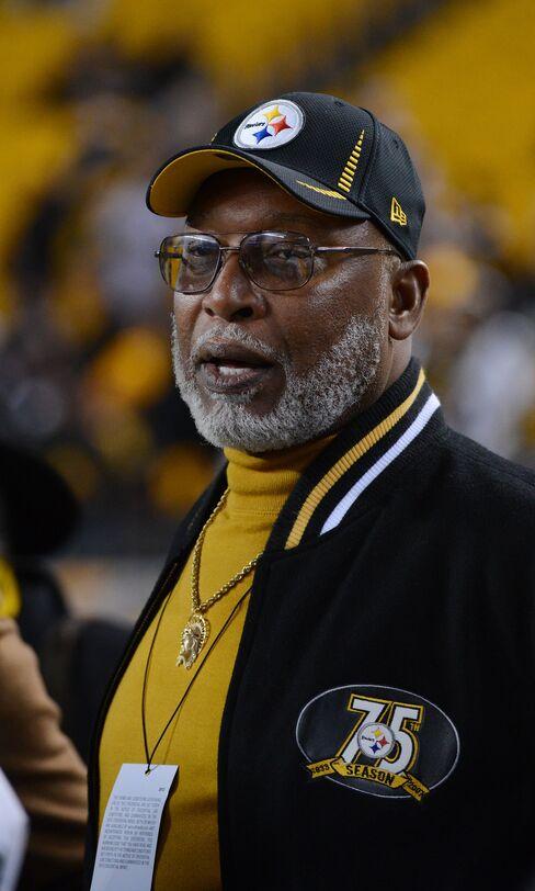 Former Pittsburgh Steelers' Defensive Lineman L.C. Greenwood