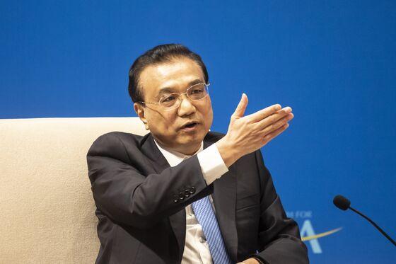 China's Premier Li Seeks Stable U.K. Ties, Vows to Open Economy