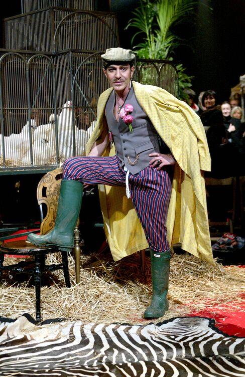 British Fashion Designer John Galliano