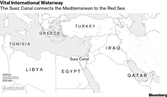 Suez Villagers Have New Neighbor: a Ship Roiling Global Trade