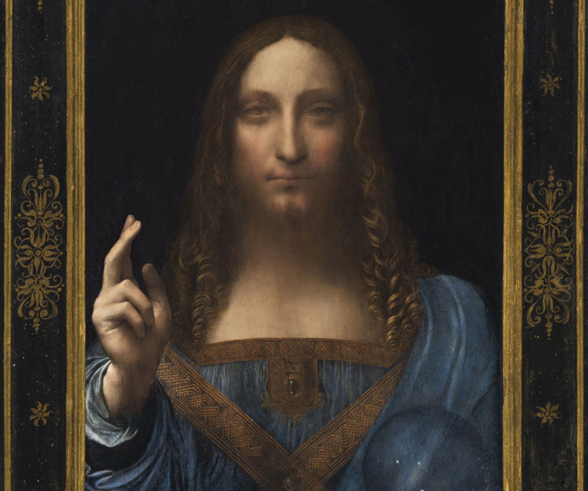 Is the $450 Million Leonardo da Vinci Painting a Fake Bloomberg