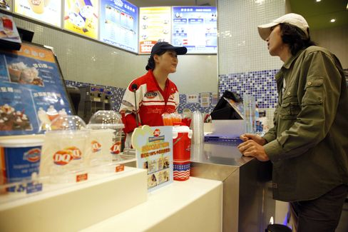 Buffett's Dairy Queen Expands in China With Green Tea