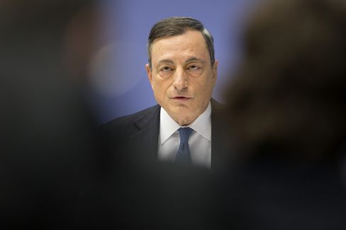 Mario Draghi in Frankfurt, Dec. 3