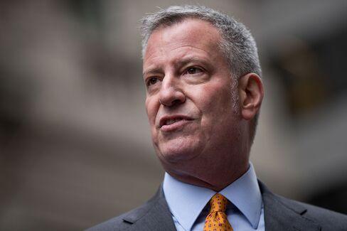 ニューヨークのデブラシオ市長