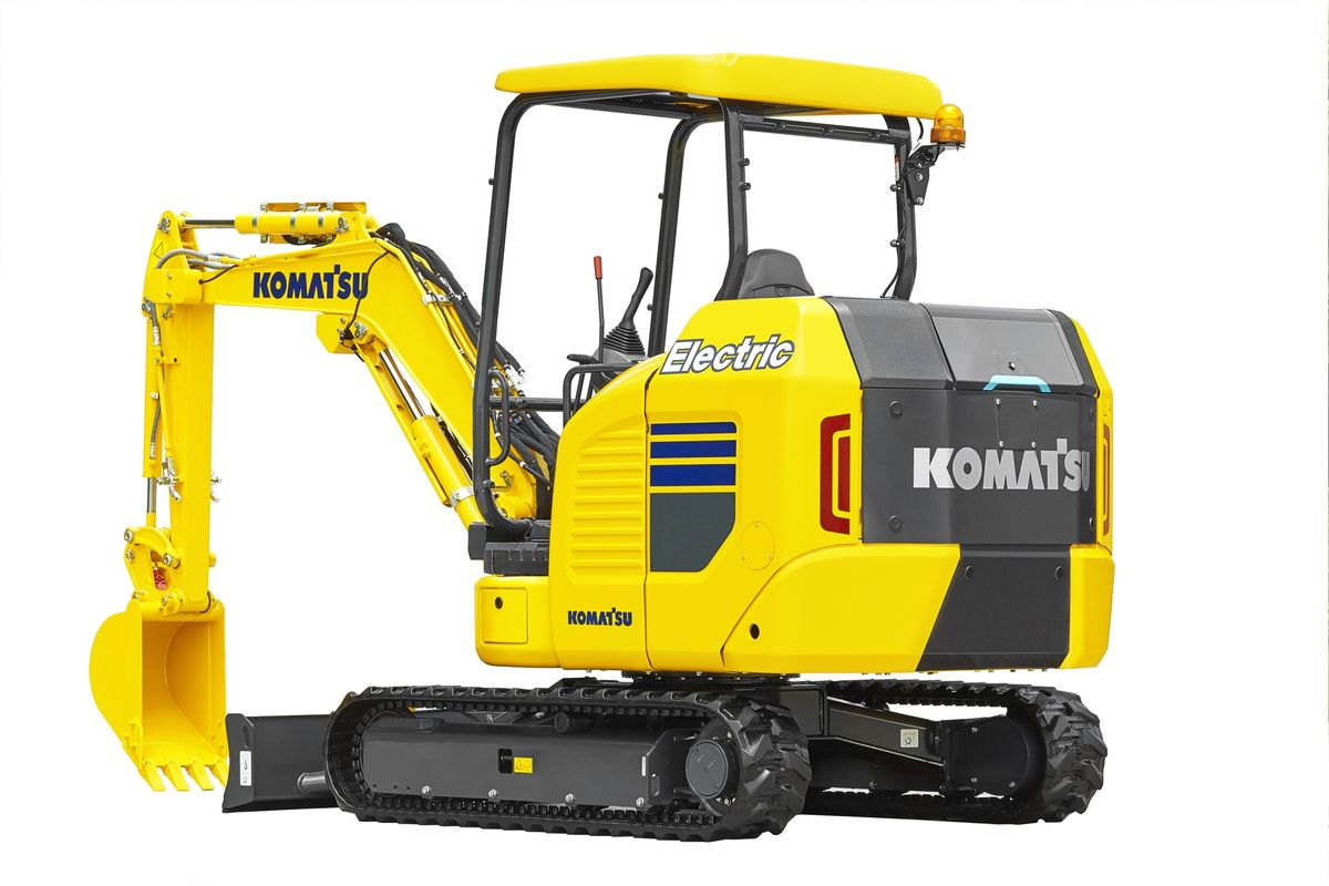 Now There Is an Electric Excavator