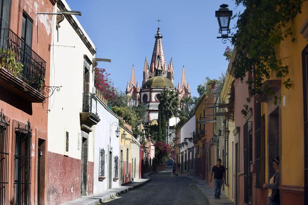 The famouschurch, Parroquia de San Miguel Arcángel.
