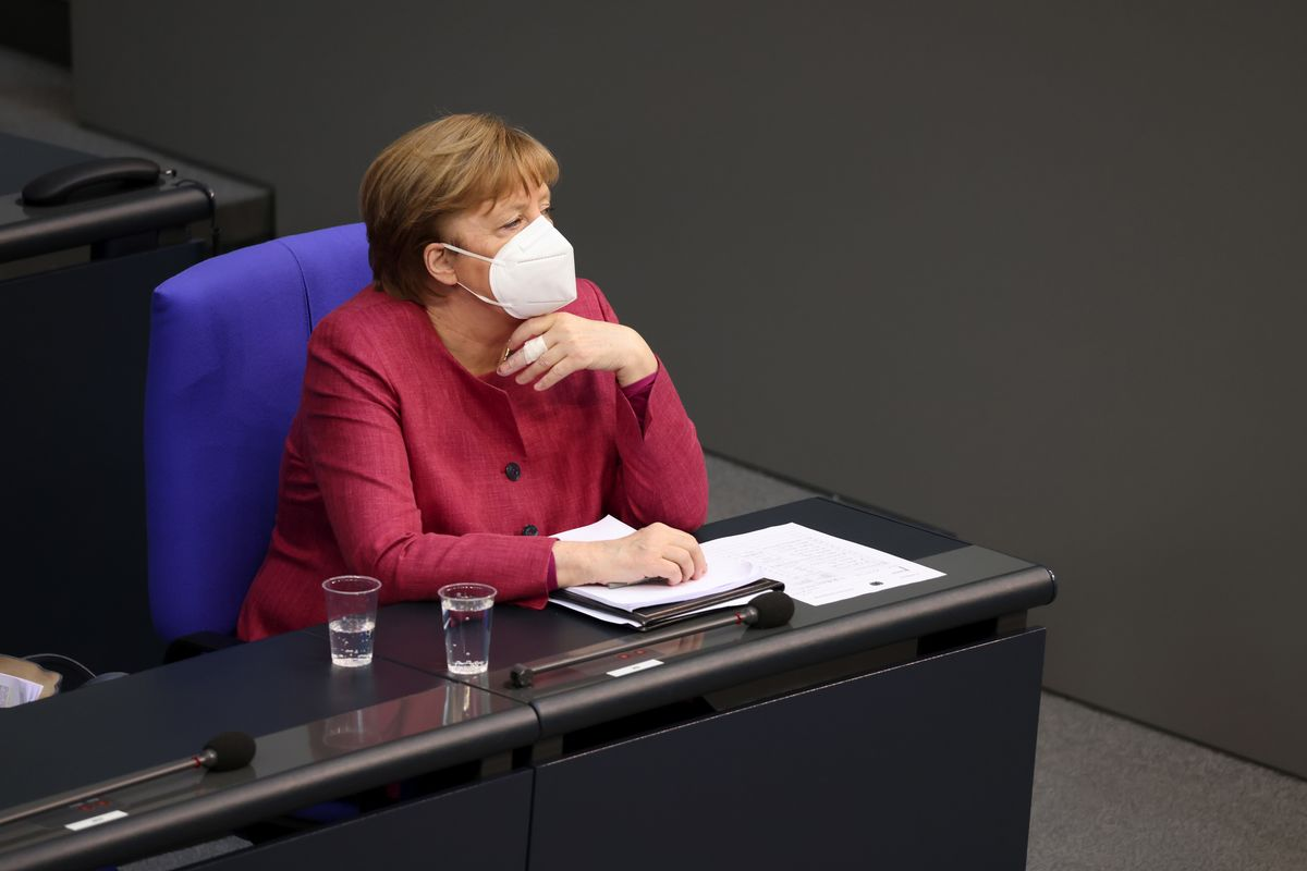 Merkel Gets AstraZeneca Shot as German Vaccination Drive Gathers Pace