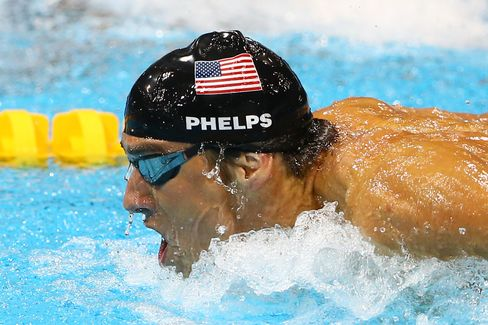 Phelps Seeks Competitive Outlet After Bowing Out on Olympic High
