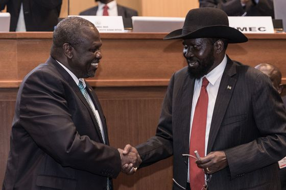 Pope Meets South Sudan Politicians Before Peace Deal Starts