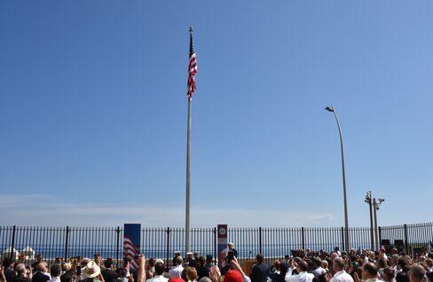 U.S. Flag Raised in Havana