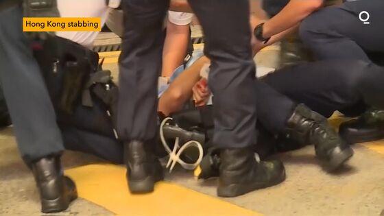 Hong Kong Policeman StabbedbyAttacker Who Then Killed Himself