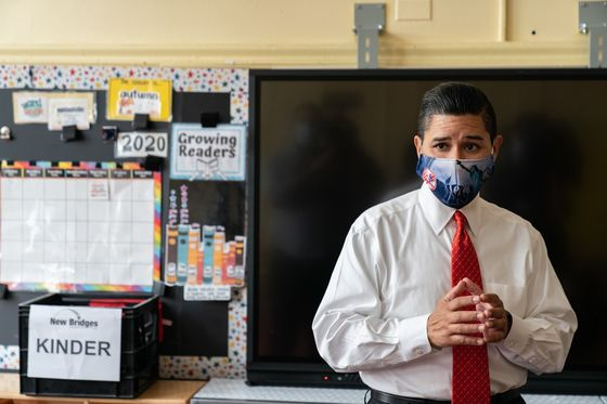 NYC Schools Near Reopening Dreaded by Teachers, Clouded by Virus
