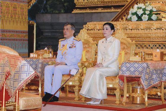 In Pictures: Thai King Is Crowned in Lavish Three-Day Ceremony