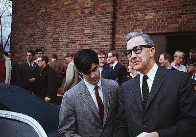 Eugene McCarthy, April 1, 1968.