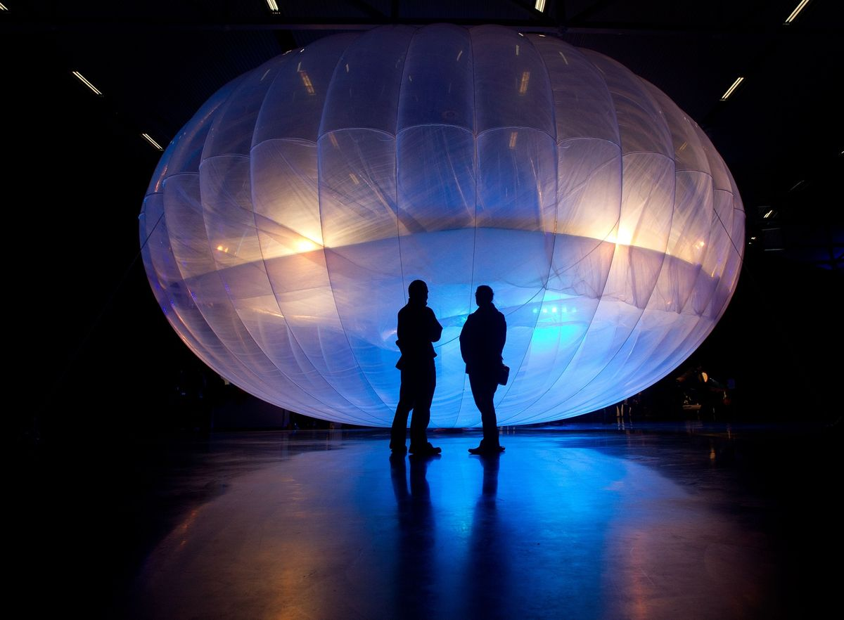 Google Loon Balloon Web Service Taps Board to Lift Business
