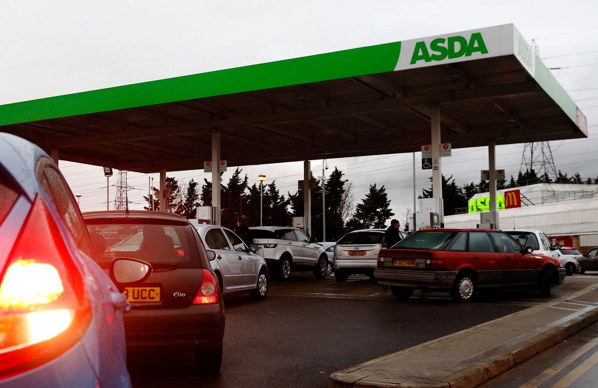 Asda Hires Barclays to Raise Cash After Gas Pumps Sale Falls Through