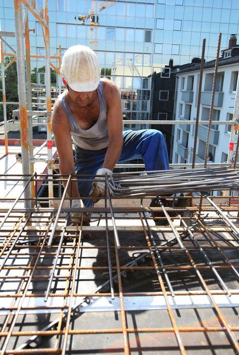German Homebuilding Permits Soar