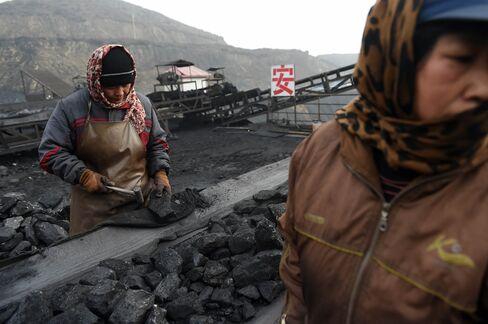 CHINA-ECONOMY-ENVIRONMENT-COAL-CLIMATE