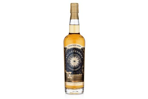 Compass Box Enlightenment mingles a gentle waft of smoke with fresh apple and vanilla for a delicate sipper.