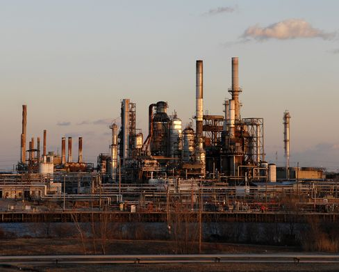 Sunoco in Talks With Carlyle on Philadelphia Refinery Stake