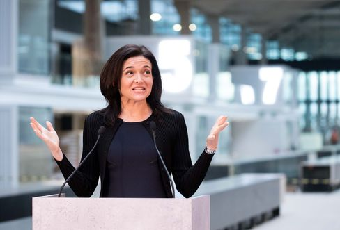 Facebook Inc. Chief Operating Officer Sheryl Sandberg Unveils Startup Garage